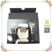 Black forest perfume bottle packaging paper box