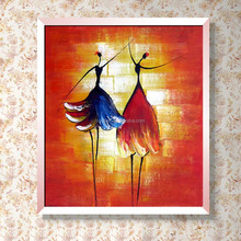 Hot Seller Quality Assured Custom-made Is Available Girls Dancing Oil Painting
