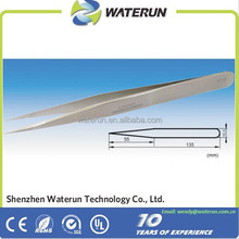 high precision and personal care stainless steel tweezers/straight tweezers/curved tweezers