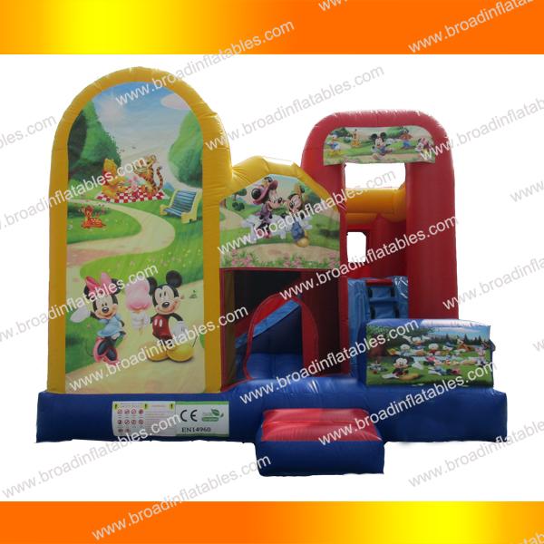 inflatable bouncy slide04
