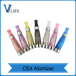 Wholesales ce4 v3 atomizer Coil Repaceable Ego Ce4 V3/Ce5 Clearomizer Ecig Atomizer ego ce4 metal case