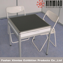 Chinese Desk For Display Exhibition booth Black Desk and Chiar Seller