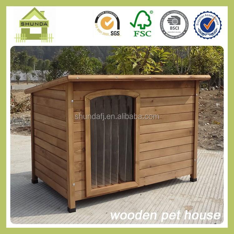 Sdd06 thân thiện với môi kennel bằng gỗ