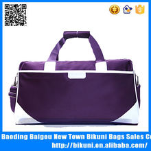 Fashion promo nylon duffel golf sport bag travel bag