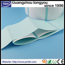 glossy self adhesive sticker label coated thermal transfer paper wholesale in guangzhou