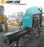 PE/PP waste plastic film crusher for both dry and wet film