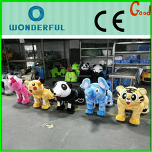 Useful interesting morden indoor amusement park rides battery operated ride animals