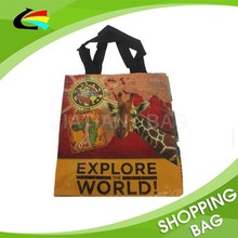 Zoo Animal Promotional PP Woven Bag for Tourist