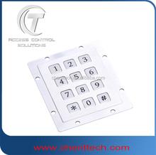 Vandal Resistant keypad Surface Access Control Keypad AD keypad inox keyboard