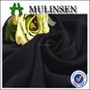 Mulinsen Textile Plain Woven Polyester 68'' Formal Black Jet Black Abaya Fabric Wool Peach Factory Direct