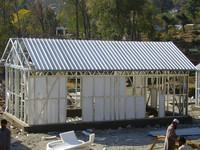 light steel fiberglass prefabricated house