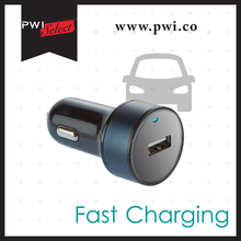PWIselect 2.4A fast charging car battery charger USB car charger