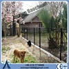 Powder coating welded wire fence panels