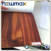 Removable Waterproof Wood Grain Wall Decals Home Sticker