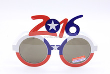 Chile 2016 new year party flag sunglasses FGGS-0143