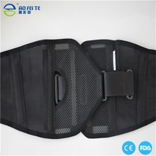 hot new products for 2015 Neoprene Double Pull Lumbar Back Brace Belt Support AFT-Y010