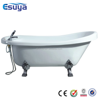 Indoor large plastic portable bathtub