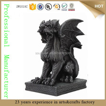 Gothic Winged Guardian Dog Figurine guardian wholesale statue guardian angels