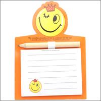 OEM Custom magnetic memo pad with pen / memo pad fridge magnet