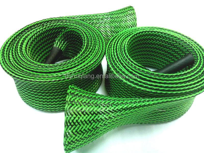 Fishing rod spinning rods sock expandable braided sleeving for Fishing rod socks