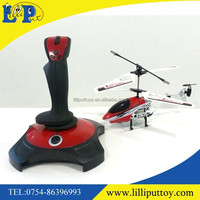 3.5ch infrared alloy rc helicopter with gyro and Gravity Sensor remote controler
