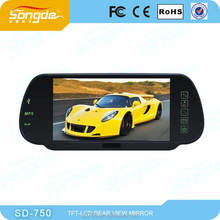 7 inch Bluetooth rearview mirror,Car/Auto bluetooth mirror on sale