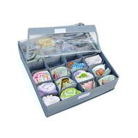 24 divider foldable underwear organizer underwear storage box