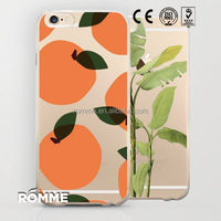 China trust manufacture supplies new designs pattern transparent case cover for iphone 6