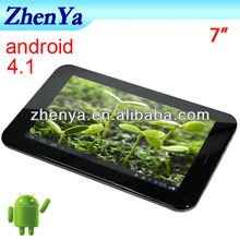 Android 4.1+1GHz+ 512GB RAM 4GB MediaTek MT6577-1GHZ Core A9 Dual-core 7 Inch Kids Tablet Pc