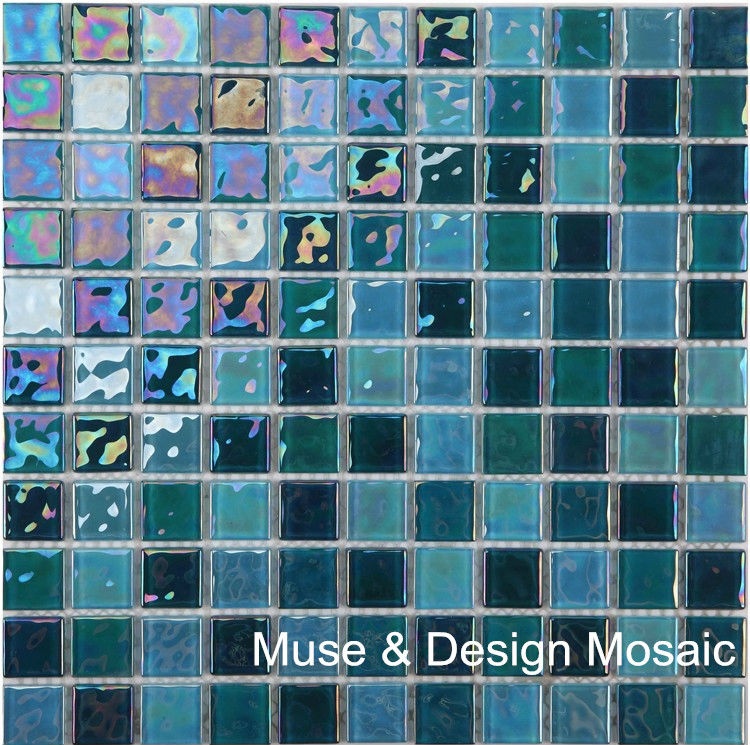 Cheap glass mosaic tile backsplash