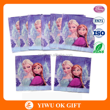 Frozen paper napkins Anna and Elsa party supplies tableware job lot