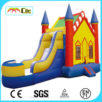 CILE Hot Sale China Bouncy House with Inflatable Jumper Slide for Amusement