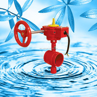 """8"""" Grooved Type Butterfly Valve for fire fighting usage"""
