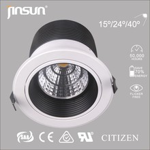 3 years warranty canton fair lighting recessed light
