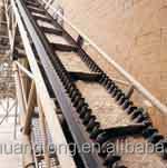 raised edge rubber sidewall conveyor belt(EP/Polyster/nylon/NN/CC/cotton)