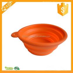 Dishwasher Safe FDA Approved Silicone Custom Novelty Portable Pet Dog Cat Bowl