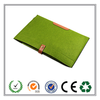 Promotional Business felt laptop sleeve/laptop bag with phone case