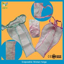 Disposable nonwoven PP briefs/bikini/spa tanga/T-back