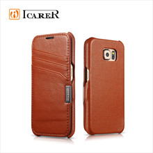 Wallet Leather Mobile Phone Cover Case For Samsung Galaxy S6