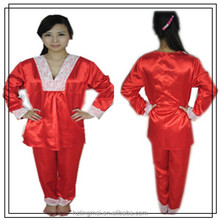 female red super soft pajamas , home sleepwear