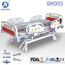 Electric hospital turn-over bed for paralyzed patients 5 functions
