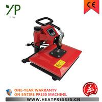 transfer iron custom t shirt printing embossing machine swing-away machine