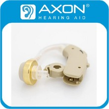 2015 AXON BTE Ear Sound Voice Amplifier Deaf Hearing Aid F-137 Hearing Device China Manufacturer