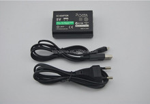 For Sony PS Vita PSV 2000 AC Power Adapter Supply Convert Charger with USB Data Transfer Charger 2 in 1 cable
