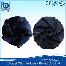 Hebei Shijiazhuang Pump rubber Impellers, pump impeller price