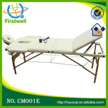 acrofine stationary massage table couch/vibrating massage table