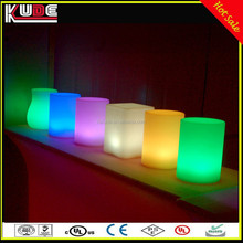 Club and Bar Table Lamp PE Material Wireless LED Decorative Night Lamp With RGB Colors Changing