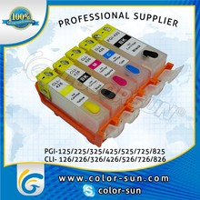 Refillable Ink Cartridge with Arc Chip for Canon Pixus BCI-325/BCI-326