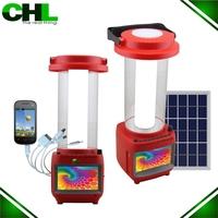 Newest camping LED Lantern,Solar LED emergency Lantern,LED Portable Solar LED Lantern with tv