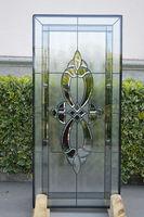 interior glass door in classical design for office room